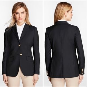 Brooks Brothers Loro Piana Two-Button Wool Blazer